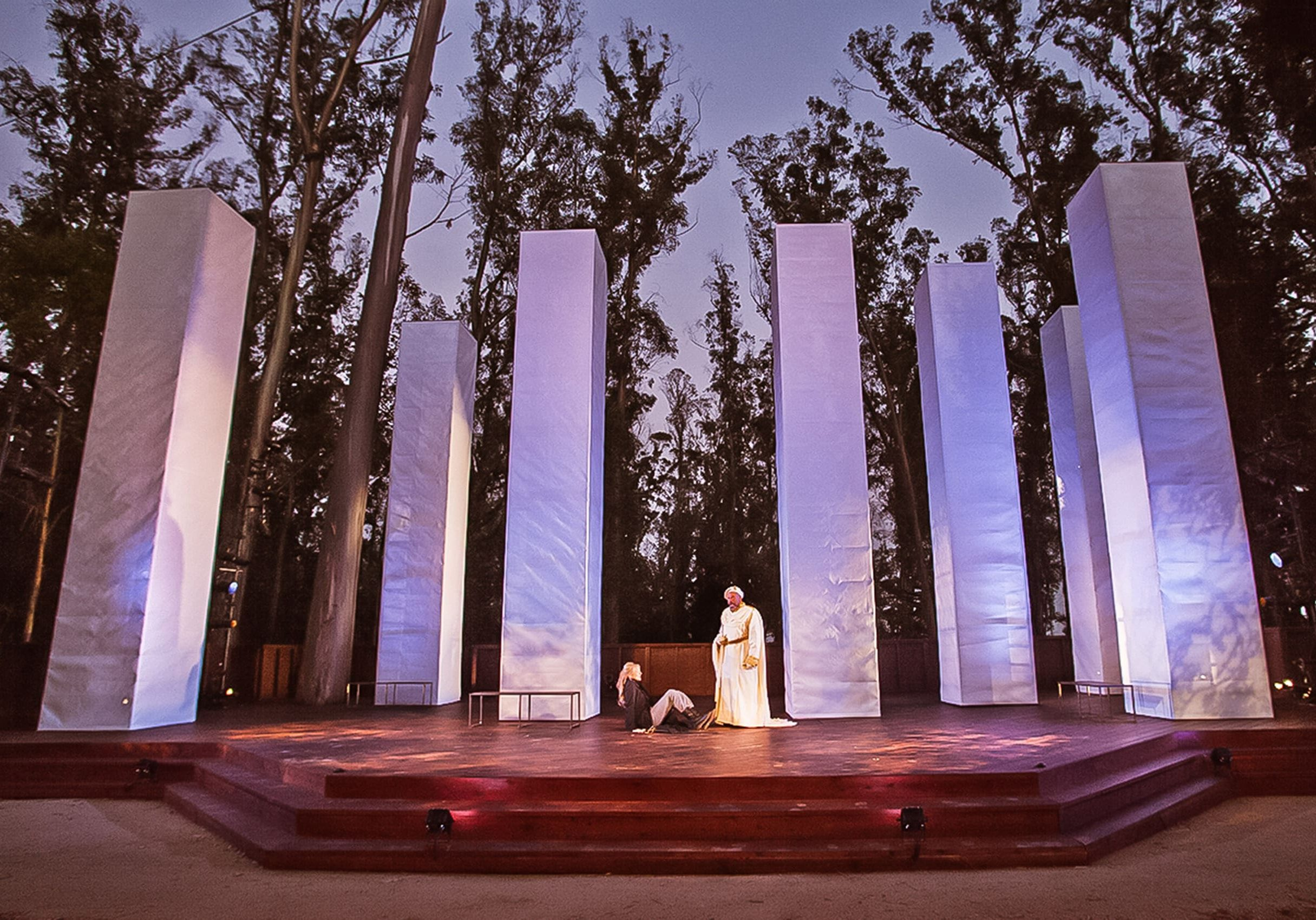 Santa Cruz Shakespeare is a nationally recognized theatre company delivering riveting live performances under a breathtaking outdoor Eucalyptus Grove.
