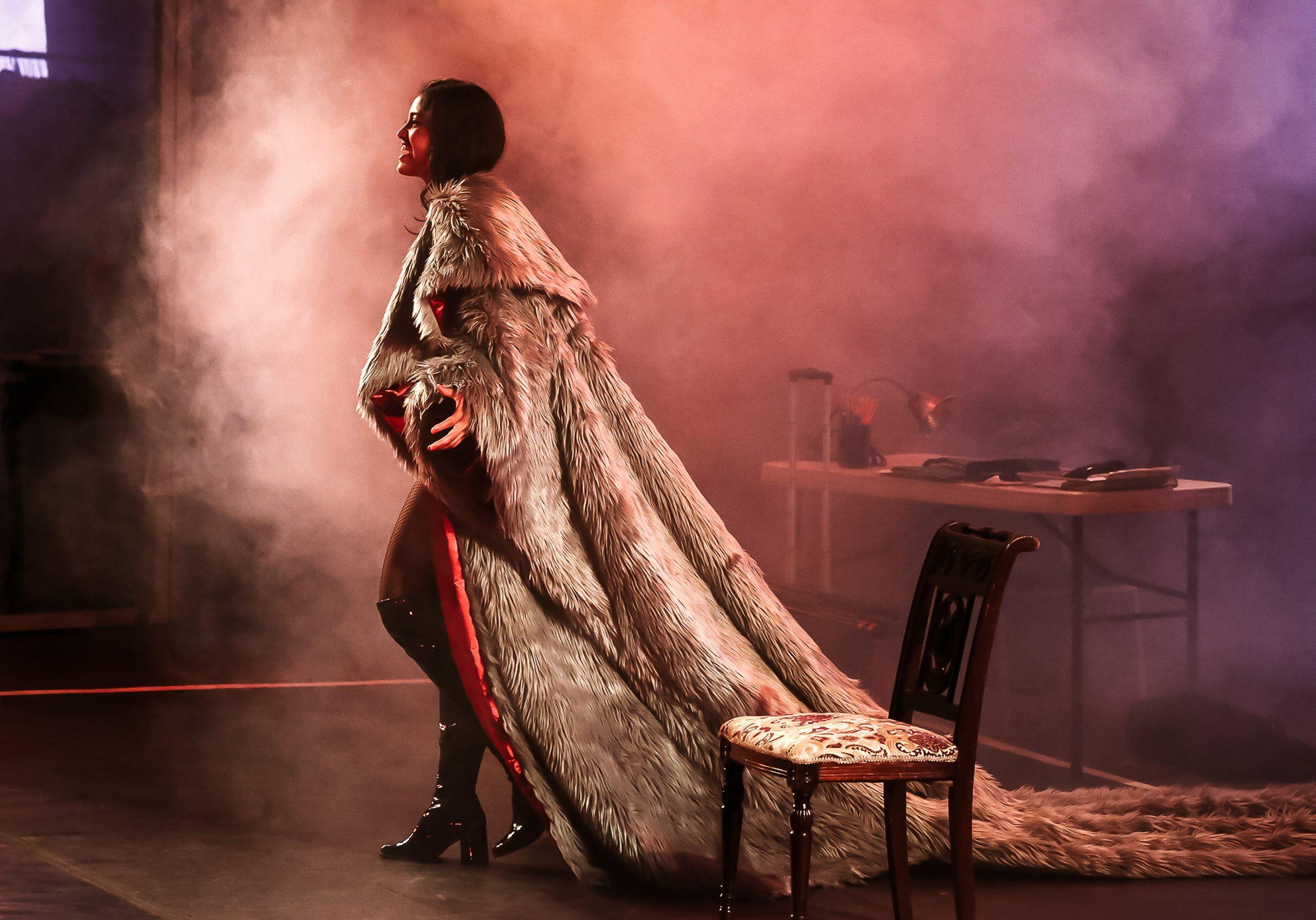 Santa Cruz Shakespeare Venus in Fur 2018 Photo by Shmuel Thaler